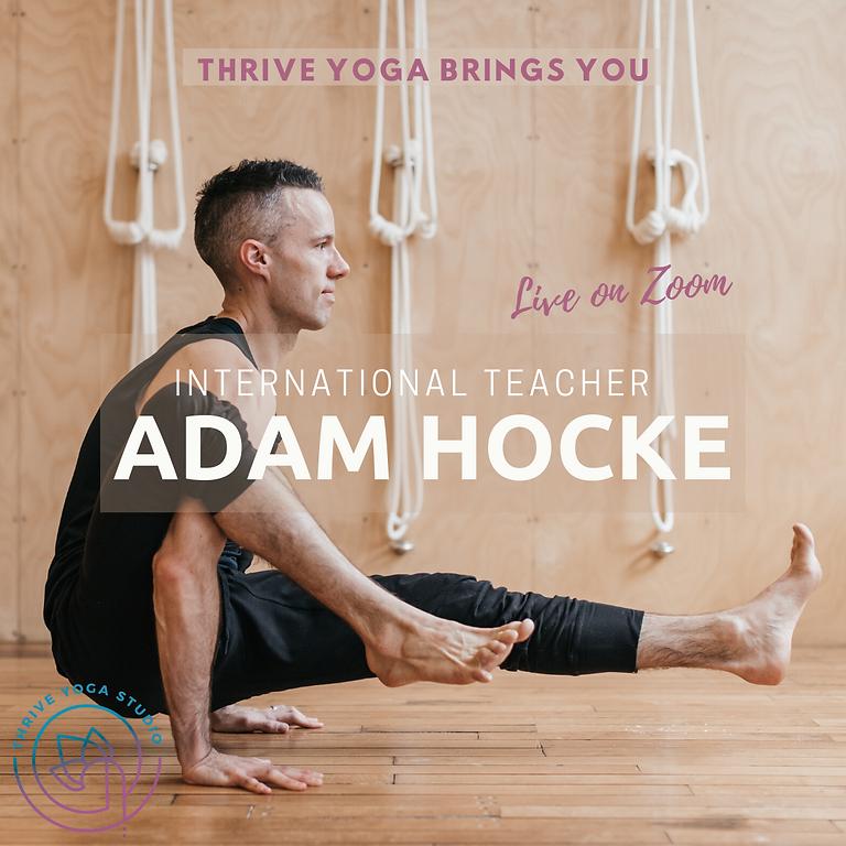 International Guest Teacher - Adam Hoche