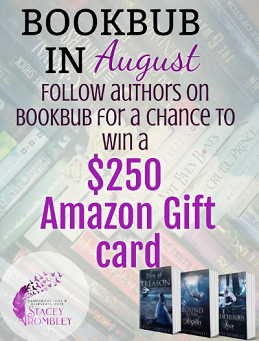 BookBub in August Giveaway – Enter to Win a $250 Amazon Gift Card!