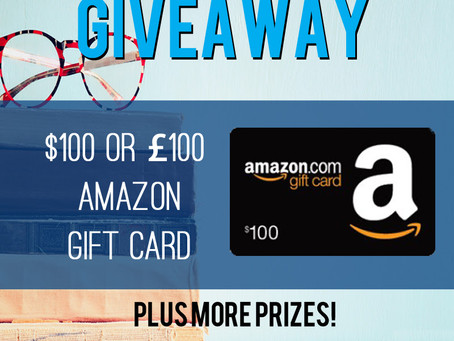 Amazon follower giveaway – Enter to Win a $100 or £100 Amazon or iTunes gift card!