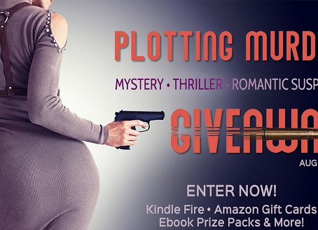 Plotting Murder Giveaway – Win a Kindle Fire, $25, 2 x $10 Amazon Gift Cards, $20, $15 ebooks!