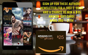 Book Vixens Giveaway – Enter to Win a $25 Amazon Gift Card!