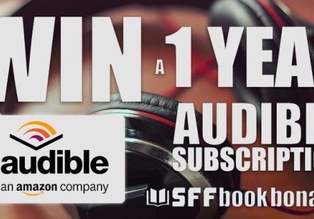 SFF Book Bonanza Audible Audiobook Giveaway – Enter to Win a 12-month subscription to Audible!