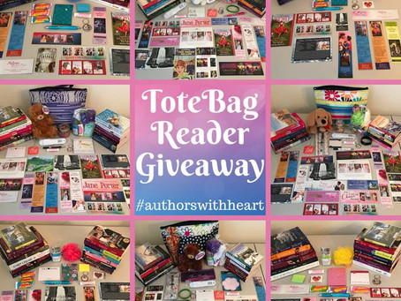 Authors With Heart: 2018 Huge Tote Bag Reader Giveaway!