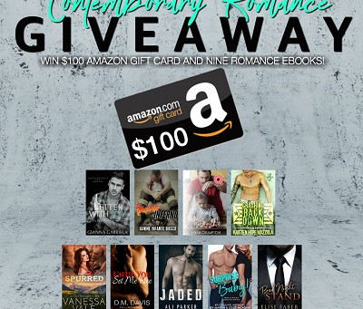 Contemporary Romance Giveaway – Enter to Win a $100 Amazon Gift Card + eBooks!