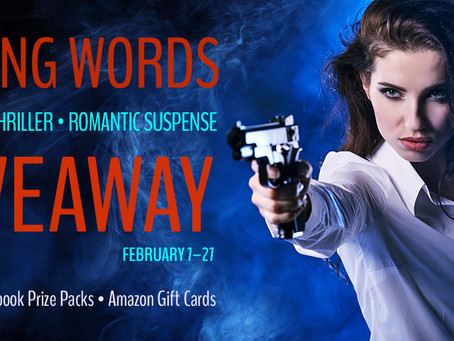 Killing Words Giveaway - Enter to Win a Kindle Fire, $25 Amazon Gift Card and more!