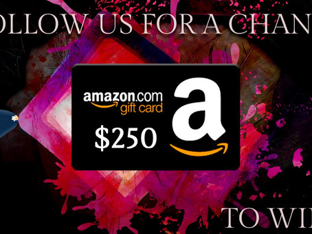 Book Throne's Social Follow Giveaway – Enter to Win a $250 Amazon Gift Card!