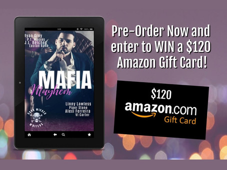Mafia Mayhem Giveaway – Enter to Win a $120 Amazon Gift Card!