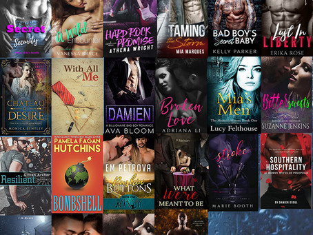 Check out all these great authors and Win 25+ Steamy Romance eBooks – ends 18 June