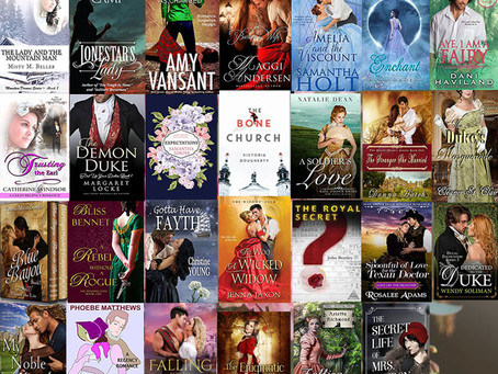 Win up to 25+ Historical Romance eBooks from these great authors!