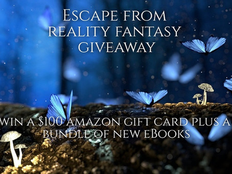 Escape from Reality Fantasy Giveaway – Win a $100 Amazon Gift Card + a selection of eBooks!