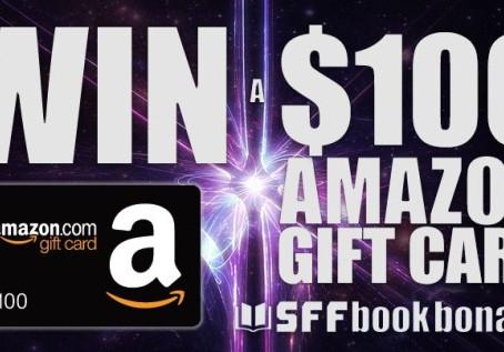 SFF Book Bonanza Social Media Giveaway – Enter to Win a $100 Amazon Gift Card!