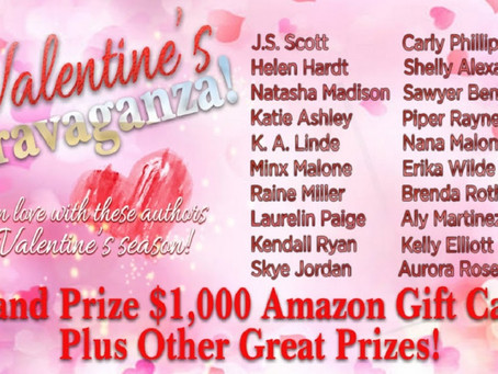 Check out these great authors' giveaway – Enter to Win a $1000 Amazon Gift Card and more!