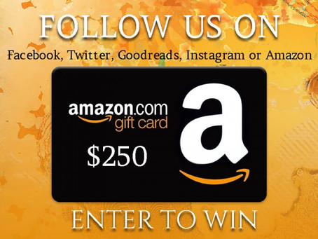 Social Media Follow Giveaway – Enter to Win a $250 Amazon Gift Card!