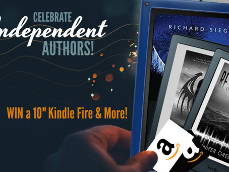 Check out all these great authors and Win a 10″ Kindle Fire, 2 x Kindle eReaders, 2 x $25 Amazon GC