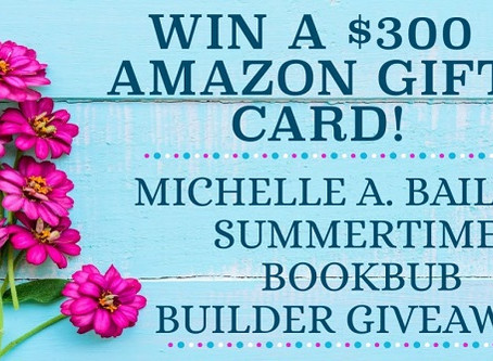 Summertime Bookbub Giveaway – Enter to Win a $300 Amazon Gift Card!