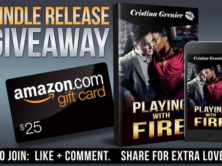 Celebrate Cristina Grenier's new book release and win a $25 Amazon Gift Card