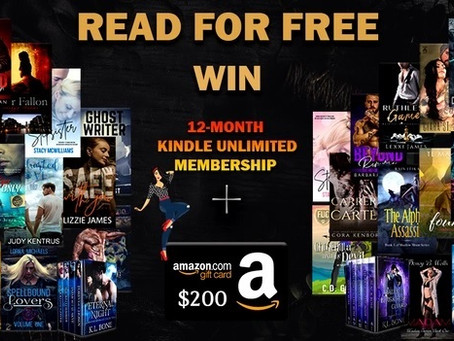 Book Throne Kindle Unlimited Giveaway – Enter to Win a $200 Amazon Gift Card and 12 months KU!