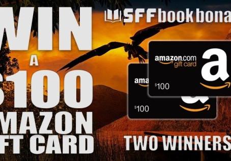 SFF Book Bonanza Giveaway – Enter to Win a $100 Amazon Gift Card!