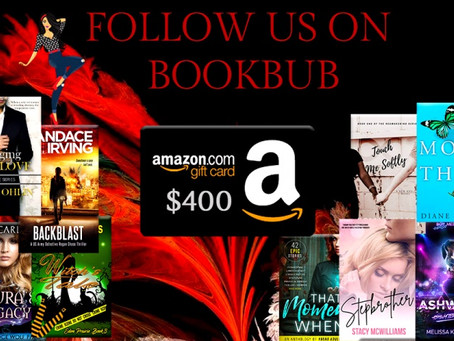 Book Throne BookBub Giveaway – Enter to Win a $400 Amazon Gift Card!