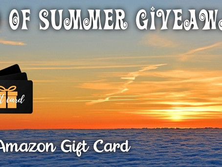 End of Summer Giveaway – Enter to Win a $75 Amazon Gift Card!
