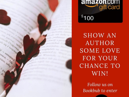 Follow Author's on BookBub Giveaway – Enter to Win a $100 Amazon Gift Card!