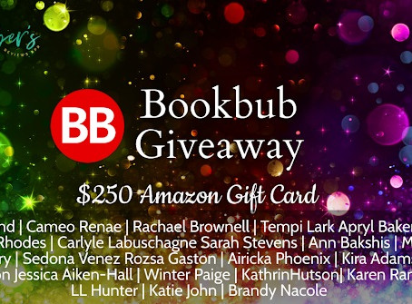 Multi-Author Bookbub Giveaway – Enter to Win a $250 Amazon Gift Card!