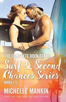 The Complete Rock Stars, Surf & Second Chances Release by Michelle Mankin – Win a $50 Amazon GC!