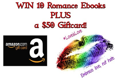 Love is Love Giveaway - Enter to Win a $50 Amazon Gift Card & Ebooks!