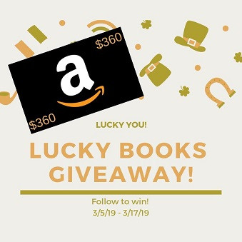 Lucky Books Giveaway – Enter to Win a $360 Amazon Gift Card!