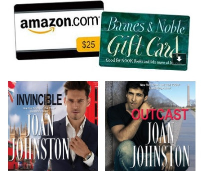 Joan Johnston's Giveaway - Enter to Win a $25 Amazon Gift Card + audiobooks!