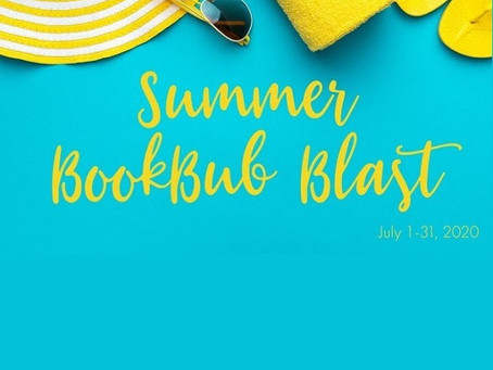 Summer Bookbub Blast Giveaway – Enter to Win a $350 Amazon Gift Card!