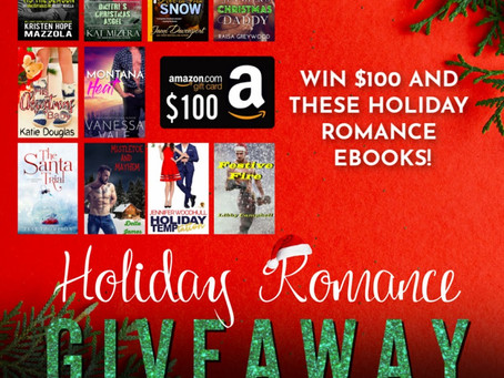 Holiday Romance Giveaway – Enter to Win a $100 Amazon Gift Card!