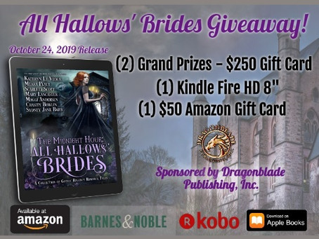 Midnight Hour: All Hallows' Brides Giveaway– Win a (2) $250, $50 Amazon Gift Cards & Kindle Fire!