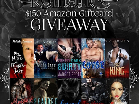 Darkside of Romance Giveaway – Enter to Win a $150 Amazon Gift Card!