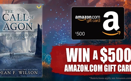 Check out Dean F. Wilson's latest book release – Enter to Win a $500 Amazon Gift Card!