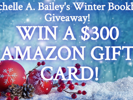 Michelle A. Bailey's Winter Bookbub Builder Bash Giveaway – Enter to Win a $350 Amazon Gift Card!