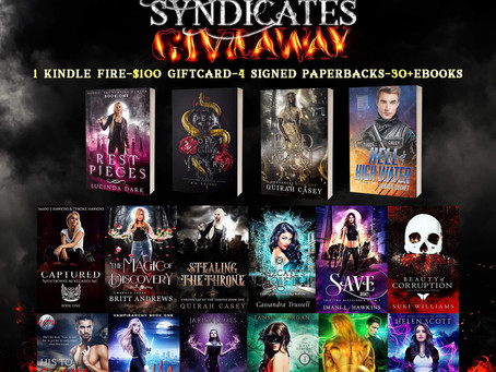 The Centrus Syndicates Giveaway – Win a Kindle Fire, $100 Amazon GC, and more!