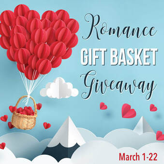 Romance Gift Basket Giveaway - Enter to Win a Grand Prize Gift Basket and many Amazon Gift Cards!