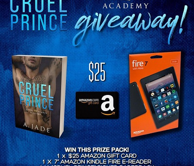 Check out Ashley Jade's latest book release – Win a Kindle Fire + $23 Amazon GC + Paperback!