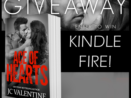 Check out J.C. Valentine's book and win a Kindle Fire
