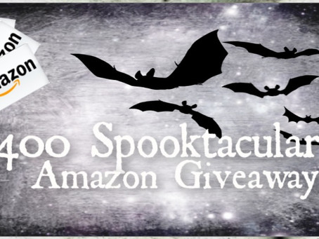 Spooktacular Giveaway – Enter to Win 4 x $100 Amazon Gift Cards!