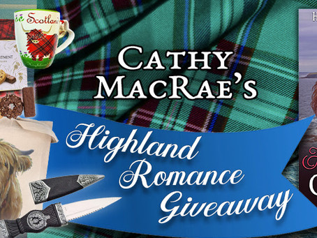 Cathy MacRae's Highland Romance Giveaway – Enter to Win a $100 Amazon Gift Card + more!