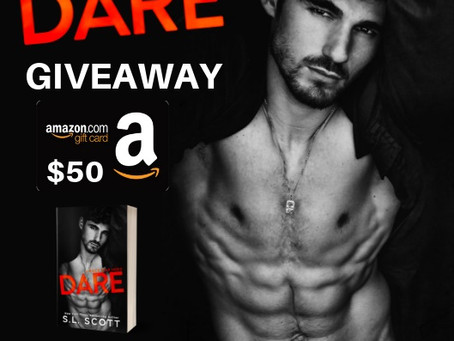 Dare Cover Reveal Giveaway – Enter to Win a $50 Amazon Gift Card!