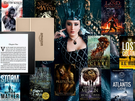 Sci-fi & Fantasy Giveaway – Enter to Win Kindle Oasis PLUS A Bundle of 50 Sci-fi & Fantasy eBooks!