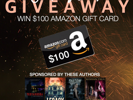 Crime & Mystery Lovers Giveaway – Enter to Win a $100 Amazon Gift Card!