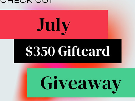 July BookBub Follower Giveaway – Enter to Win a $350 Visa Gift Card!