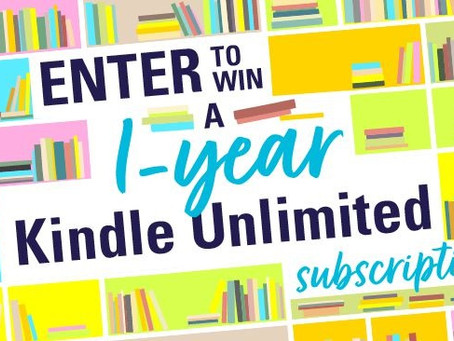Subscribe to Early Bird Books Newsletter – Enter to Win a 1-year subscription to Kindle Unlimited!
