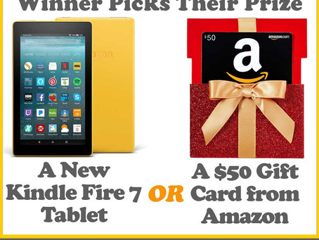 YourNewBooks.com Giveaway – Enter to Win a Kindle Fire 7 or $50 Amazon GC!