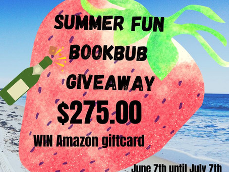 Summer Fun Bookbub Giveaway – Enter to Win a $275 Amazon Gift Card!