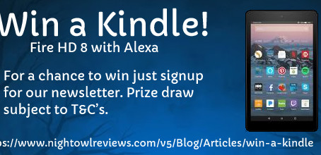 Win a Kindle Fire HD 8 With Alexa from Night Owl Romance!